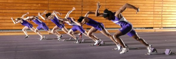 Some Western athletes charging out of the blocks (2009)