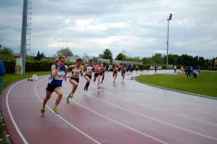 200m in the 2012 Multistars heptathlon, Desenzano Italy