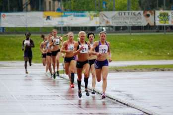 800m in the 2012 Multistars heptathlon, Desenzano Italy