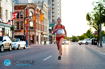 Urban Track and Field - King St., London (2011) Photo courtesy of Scherle Photography