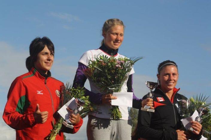 Heptathlon podium, Woerden Netherlands, (2012)