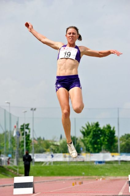 Long Jump in the 2012 Multistars heptathlon, Desenzano Italy