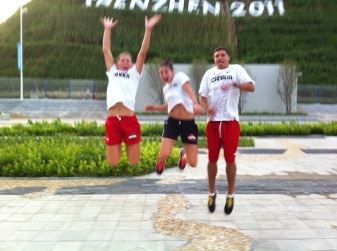 Canada's combined event athletes at the 2011 Summer Universiade, Shenzhen China